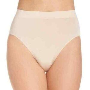Wacoal 0126 Womens Smooth High Cut Briefs NUDE XL